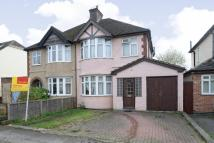 3 bedroom semi detached property in Templar Road...