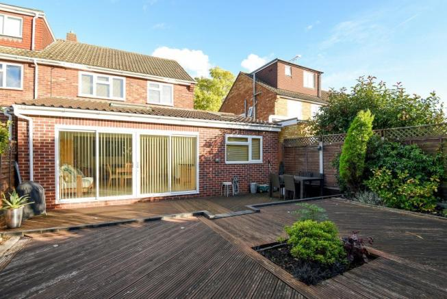 Decking & Rear of House