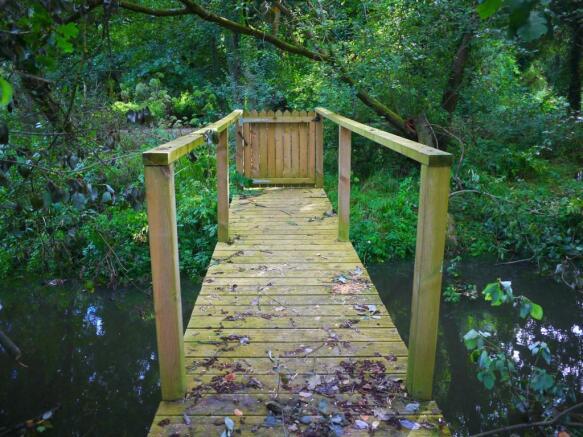 Wooden Access Walkway/Bridge