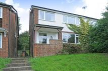 semi detached house in St Georges Close...