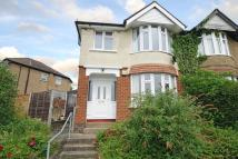 3 bedroom semi detached property to rent in Hillview Road...