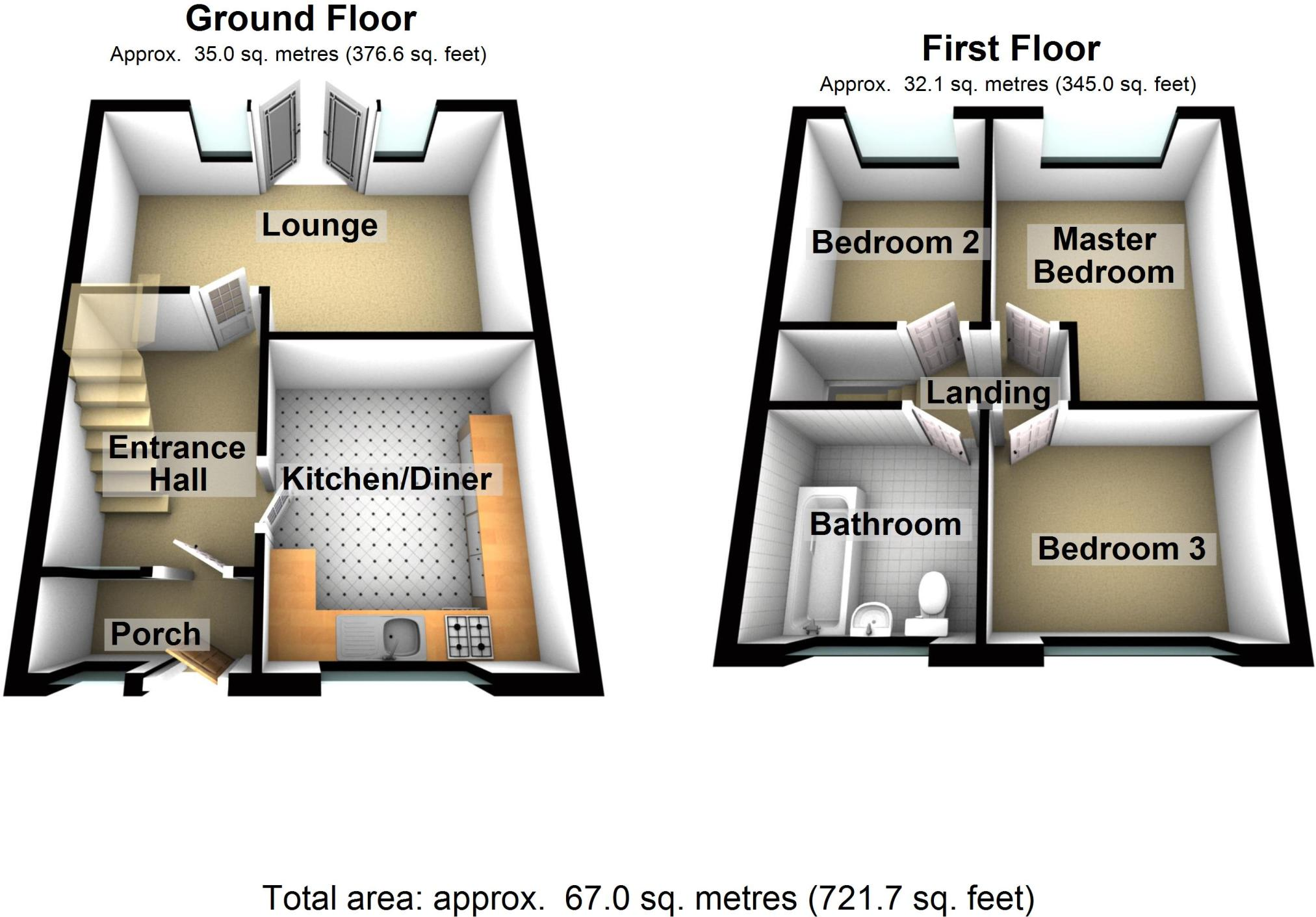 Up And Down House Floor Plan