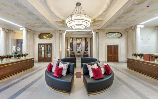 Building Shot: Star & Garter Reception Area