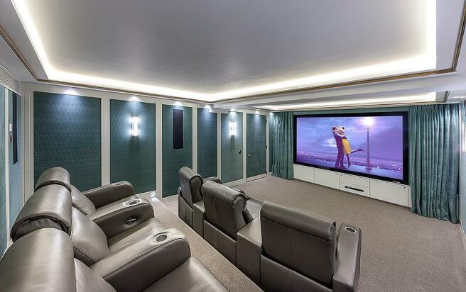 Building Shot: Star & Garter Cinema Room