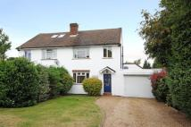 semi detached property in Cabrera Close...