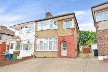 semi detached home to rent in BELLAMY DRIVE, STANMORE
