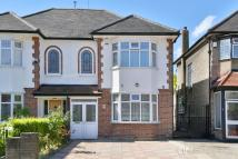 3 bedroom semi detached home in Cranford Avenue...