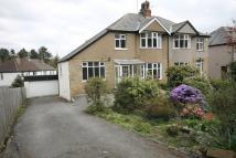 semi detached house in Baildon Road, Baildon