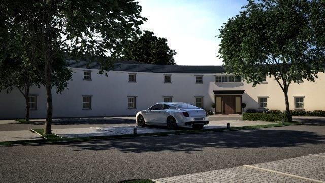 Computer Generated images of Proposed Development