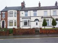 Terraced property in City Road, Stoke-on-Trent