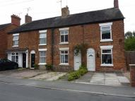 Terraced property in Wistaston Road, Willaston