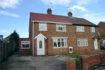 semi detached property in Humber Crescent, Brough...