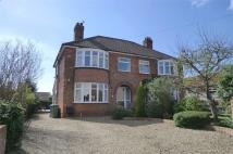 semi detached property in First Lane, South Cave...