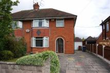 3 bedroom semi detached home in Poplar Drive, Alsager