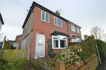 semi detached house in Gunn Street, Biddulph...