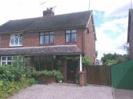 3 bedroom semi detached property for sale in Dig Lane, Wybunbury...