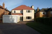 Detached home in Warnington Drive...