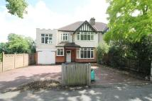 semi detached home in Charteris Road...