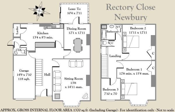 Rectory Close Floorp