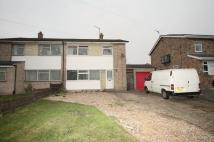 semi detached home in Parsonage Lane, Burwell...