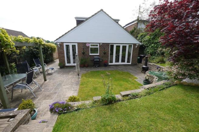 REAR OF PROPERTY:-
