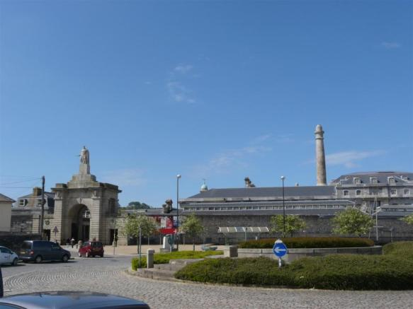 a short walk to the Royal William Yard