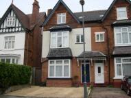 Studio apartment in Arden Road, Acocks Green...