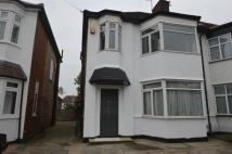 3 bed semi detached home to rent in Passmore Gardens, London...