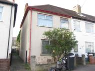 3 bed End of Terrace property in Laurier Road, Croydon...