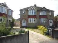semi detached house in Waltham Close, Dartford...