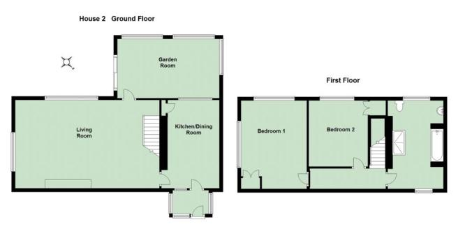 House Two Floorplan