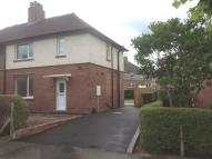 3 bedroom semi detached property to rent in Argles Road, Leek