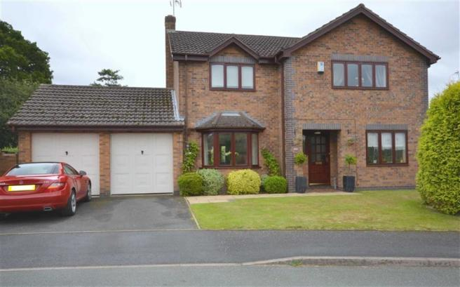 4 Bedroom Detached House For Sale In DeHavilland Drive Yarnfield