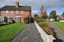 2 bed semi detached home for sale in Priory Road, Stone