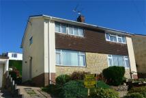 semi detached house in Larkfield Close...