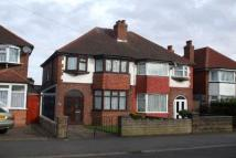 School Road semi detached property to rent