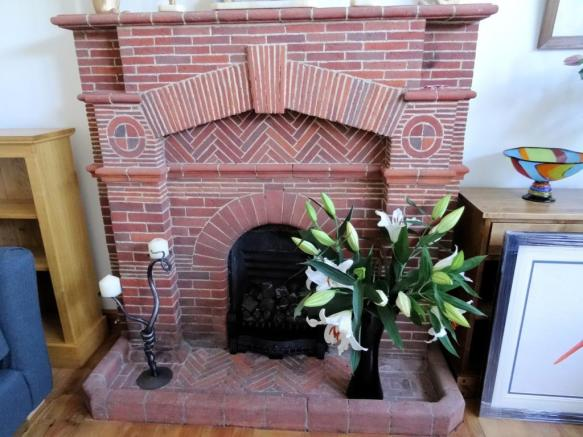 Fireplace in Sitting