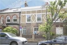Terraced house in Cleveland Road, Chiswick...