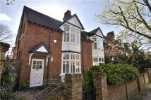 semi detached home for sale in Woodstock Road, Chiswick...