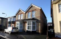 2 bed semi detached house in Stourfield Road...