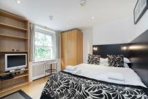 Studio apartment in Cartwright Gardens...