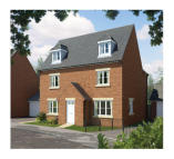 new property for sale in Linnet Way Hucknall...