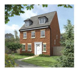 5 bed new property for sale in Linnet Way Hucknall...