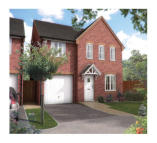4 bedroom new house in Linnet Way Hucknall...