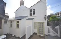 1 bedroom semi detached house for sale in Padstow, Camel Estuary...
