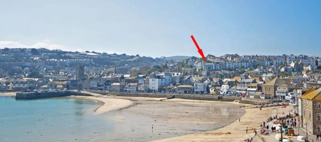 5 bedroom terraced house for sale in barnoon terrace st for 3 porthminster terrace st ives