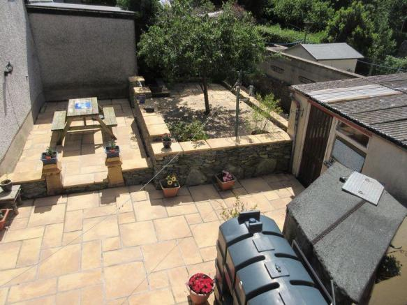 Rear Patio/Garden