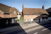 2 bed semi detached property in High Street, Westerham...