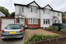 semi detached property in Lynwood Drive...