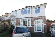 semi detached property in Brockenhurst Avenue...